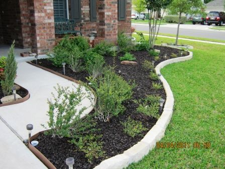 Low Maintenance Landscape Ideas Curb Appeal Mulches