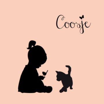 Coosje | silhouette meisje