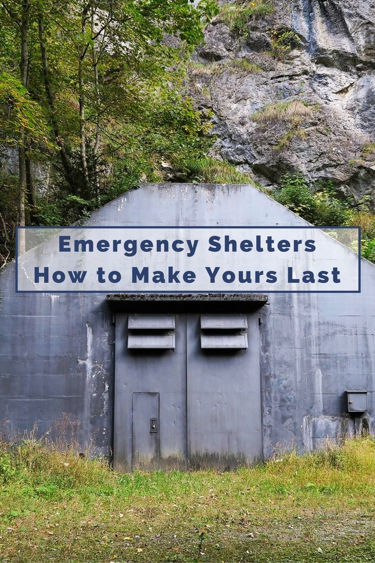 Emergency Shelters: How to Make Yours Last - One of your top priorities when SHTF will be getting shelter. You could be in danger of dying within a few hours in severe weather conditions if you don't have shelter to protect you from the elements. Ideally your shelter should be made to last to increase your chances of survival.