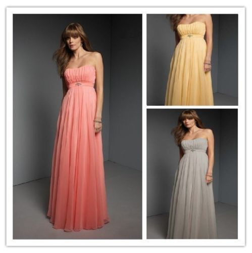 New-Chiffon-Evening-Formal-Party-Ball-Gown-Prom-Bridesmaid-Dress-Size-6-18