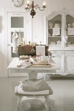 white dining...