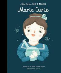 Little People, Big dreams er en fantastisk fin serie for barn om en serie heltinner. Bøkene forteller med enkel tekst om livet til kvinnelige pionerer fra barndom til voksen, og hvilke hendelser som formet deres liv. Hver bok er illustrert av forskjellige illustratører. Bøkene gir vel så mye glede for voksne lesere som for de minste! Denne boken handler om Marie Curie