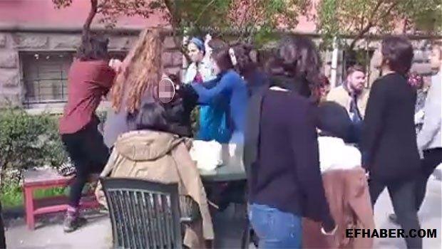 Üniversiteli Kızlar Tacizci Genci Şamar Oğlanına Döndürdü - EFHaber - Haber - Son Dakika - En Son Haberler