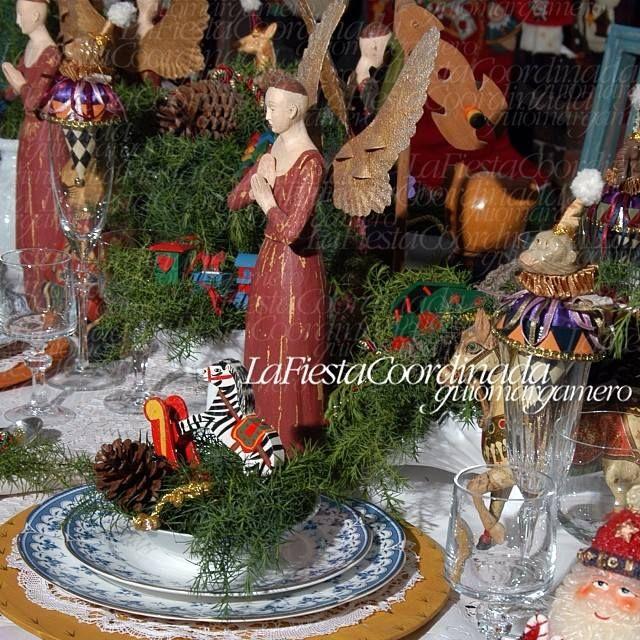 Navidad centro de mesa navide o decoraci n de navidad - Adornos de mesa navidenos ...