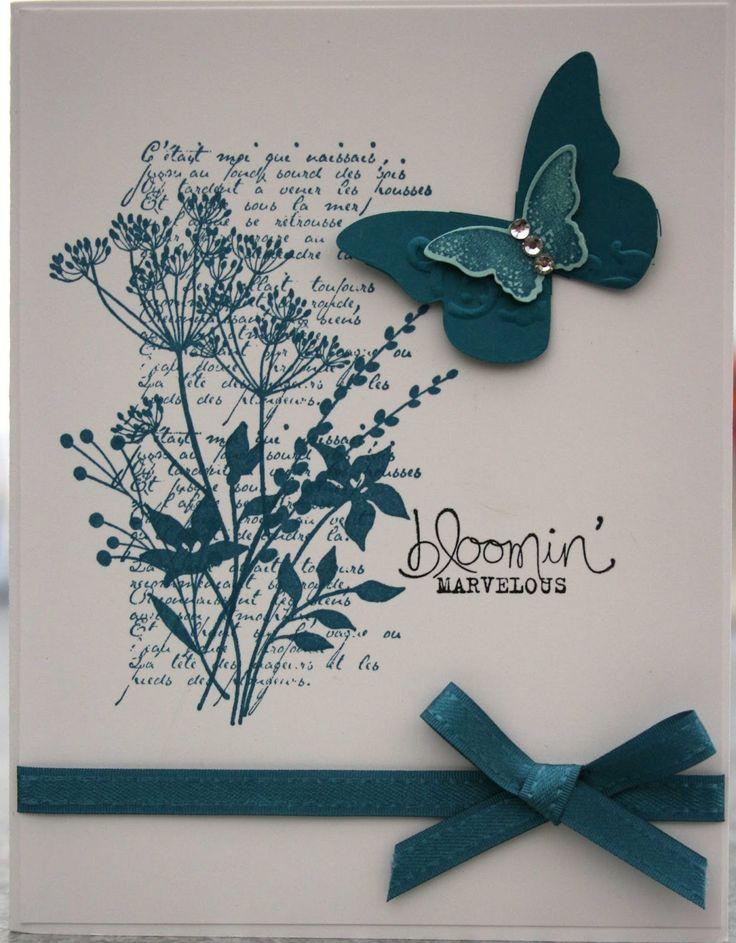 """Bloomin' Marvelous"" card by Lynette Parker"