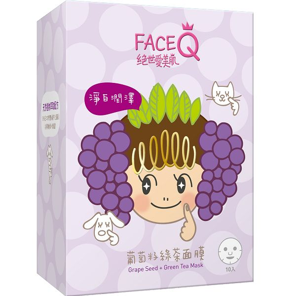Grape seeds contain proanthocyanidin , a powerful anti-oxidant that aids in the prevention of wrinkles.  For more info: http://www.facialisland.com