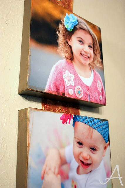 do it yourself Photo Canvases