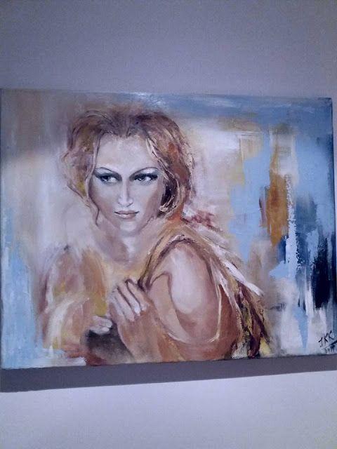PAINTING JoKo Kozlowska: Czasem maluje obrazy innych artystów.. dlatego, że...