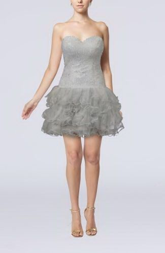 Elegant Princess Homecoming Dress - Order Link: http://www.thebridalgowns.com/elegant-princess-homecoming-dress-tbg6208 - SILHOUETTE: Princess; SLEEVE: Sleeveless; LENGTH: Short; FABRIC: Chiffon; EMBELLISHMENTS: Ruffles , Paillette , Sequin - Price: 120.99USD