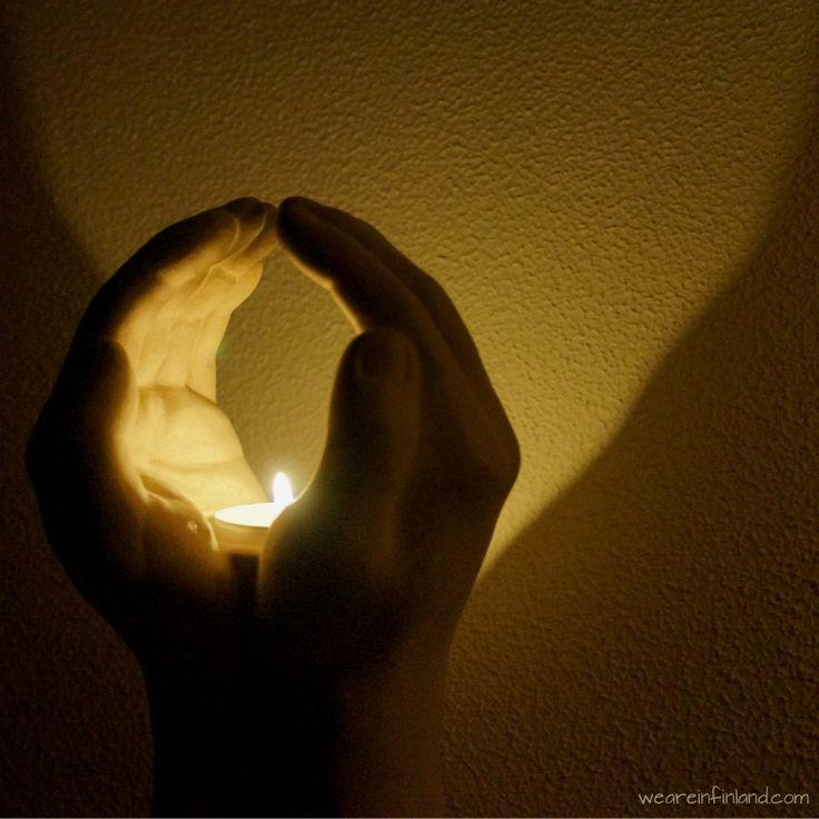 Hands candleholder. #candles #decor