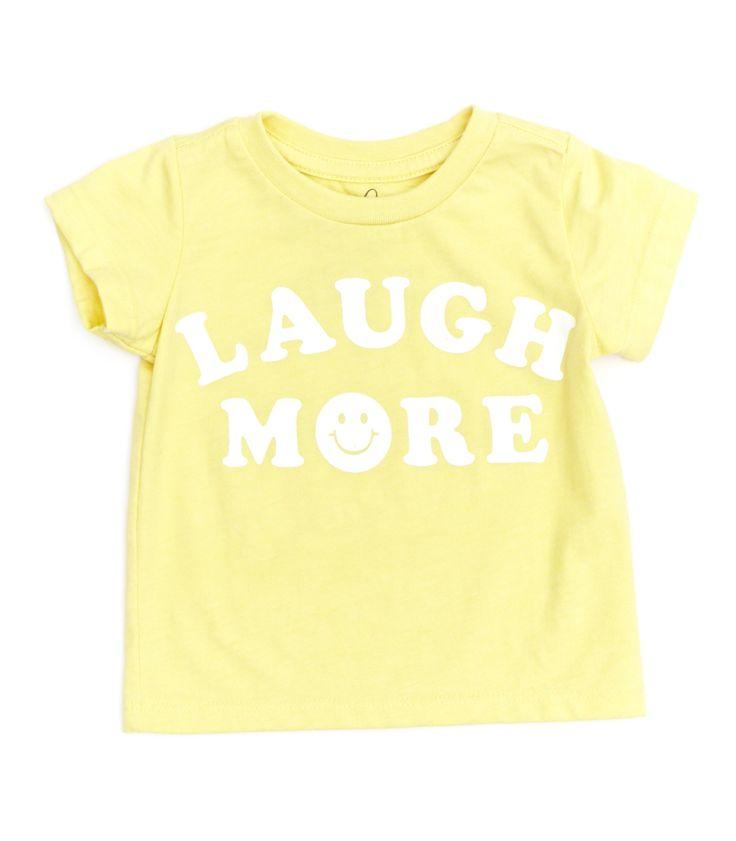 Laugh More Tee