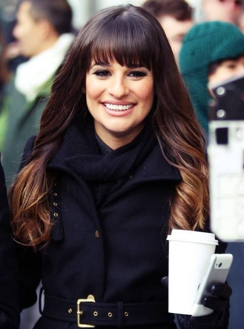 Lea Michele. I find that the more I watch her work ... the more I like her. Which I don't know how I feel about.