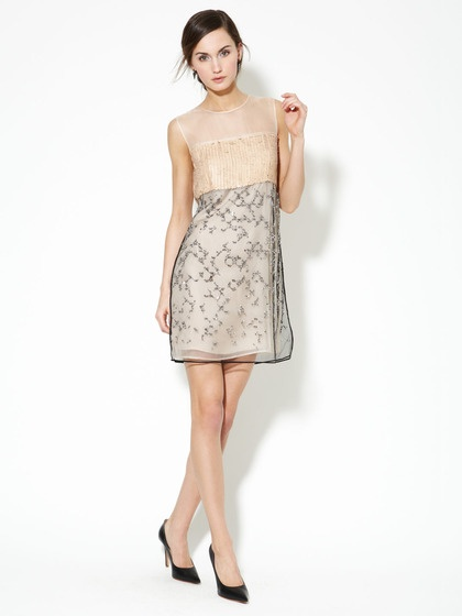 Leather Paillette and Rhinestone Silk Shift by 3.1 Phillip Lim on Gilt  @blossomdesign I want this!