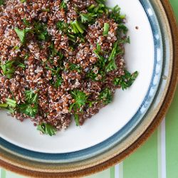 Lemon Herb Quinoa With Hemp Seeds, Spring Peas, And Basil Recipe ...