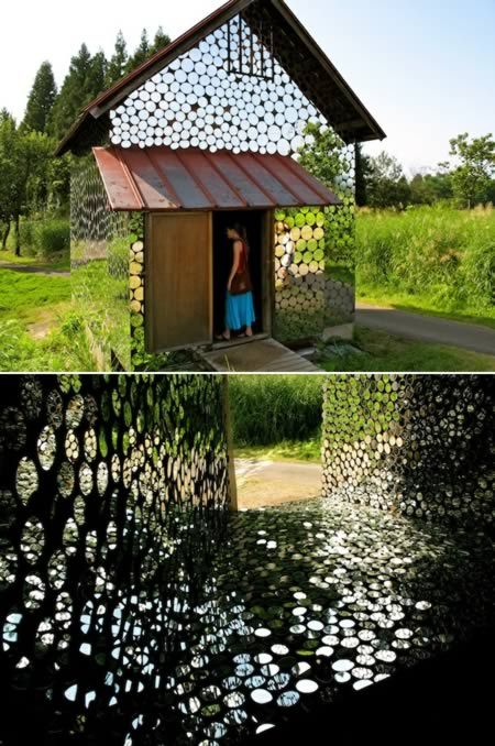 10 of The Coolest Mirrored Art Installations -- mirrored house