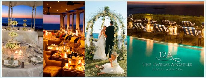 The Twelve Apostles Hotel and Spa - Cape Town Wedding Venues