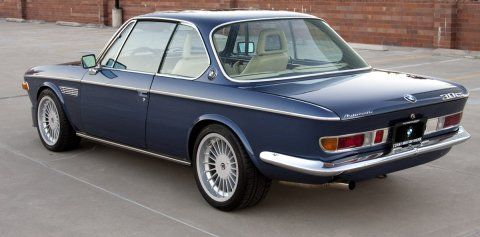 1973 BMW 3.0CS E9 Coupe Hot Rod Rear