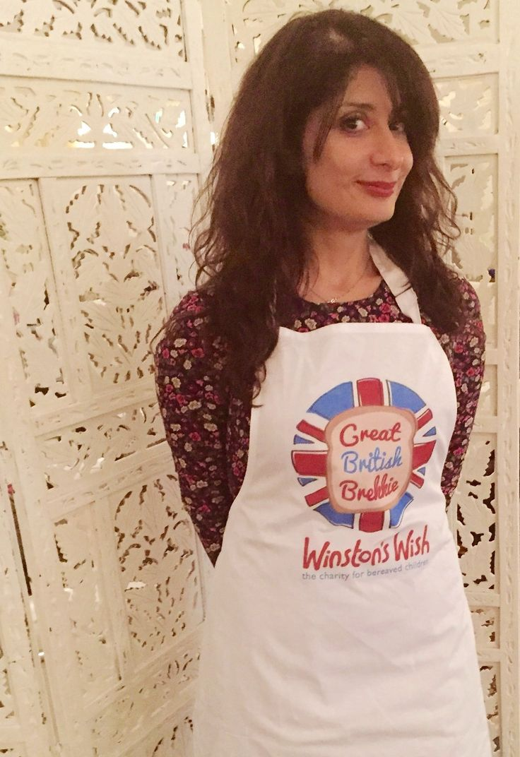 Shappi Khorsandi Supporting our Great British Brekkie campaign 2015