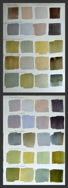 Watercolor Tip: Amazing Color Mixing To Try Right Now