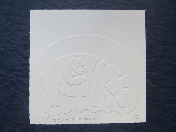 De la serie ATRAPADOS-INMOLADOS-EXTINTOS. Hipopotamo