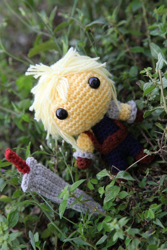 FFVII: Red XIII | Crochet quilt, Crochet fox, Nerd crafts | 855x570