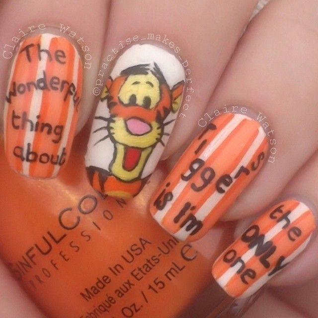 482 best Disney Nails images on Pinterest   Disney nails ...