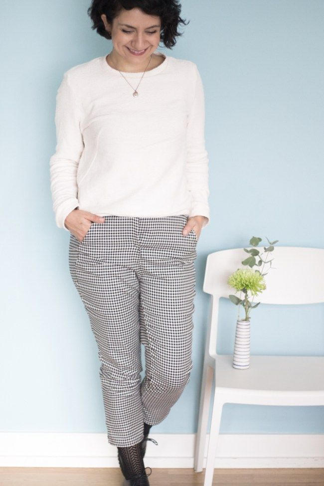 Zigarettenhose Tyyni von named clothing - Tweed & Greet
