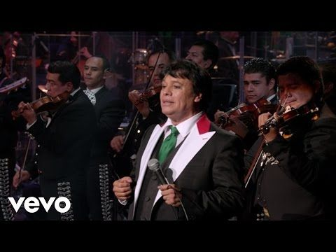 "YouTube ~ Juan Gabriel ~ ""Abrázame  Muy Fuerte Live in Bellas Artes, Mexico. My favorite song of his.  Rest in Peace ❤❤"
