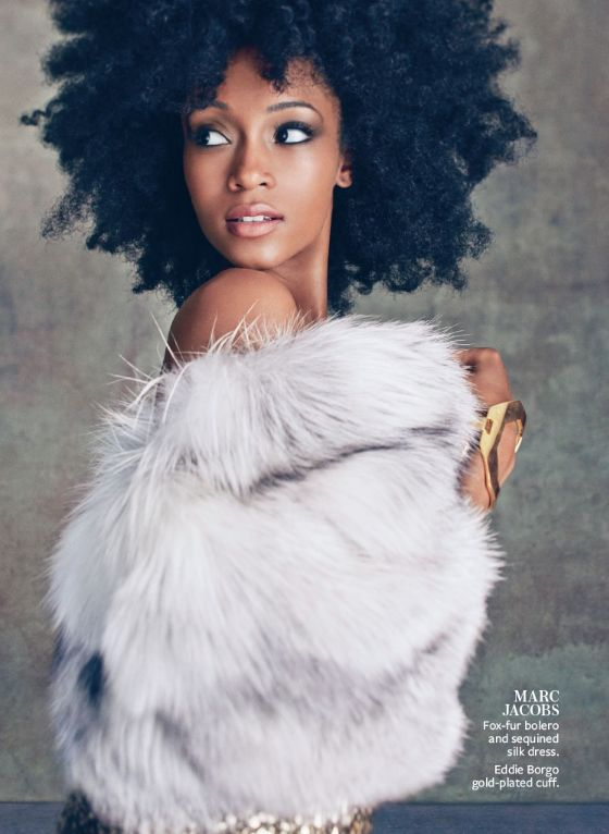 The Best of The September Issues: /Actress Yaya (DaCosta) Alafia for InStyle Magazine September 2013