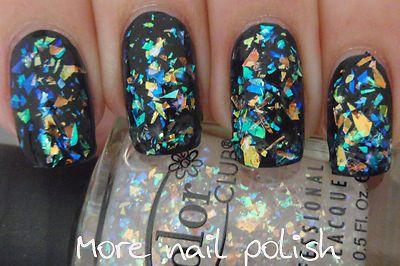 ★Color Club★ Covered In Diamonds - Flake Crystal Opal Holo Glitter Nail Polish