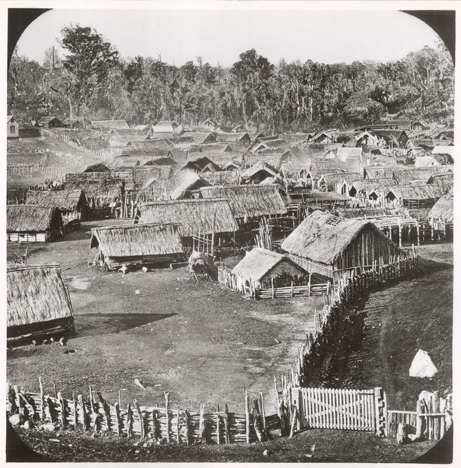 On 5 November 1881, government forces invaded the peaceful Māori settlement of Parihaka. Sixteen hundred police and volunteers took part in the attack on Parihaka, which had become the symbol of protest against the confiscation of Māori land.  Its primary leaders were Te Whiti-o-Rongomai (Taranaki and Te Ātiawa) and Tohu Kākahi (Taranaki and Ngāti Ruanui). They were joined by Tītokowaru (Ngāti Ruanui) in the aftermath of his campaign against the government in the late 1860s. Te Whiti and…