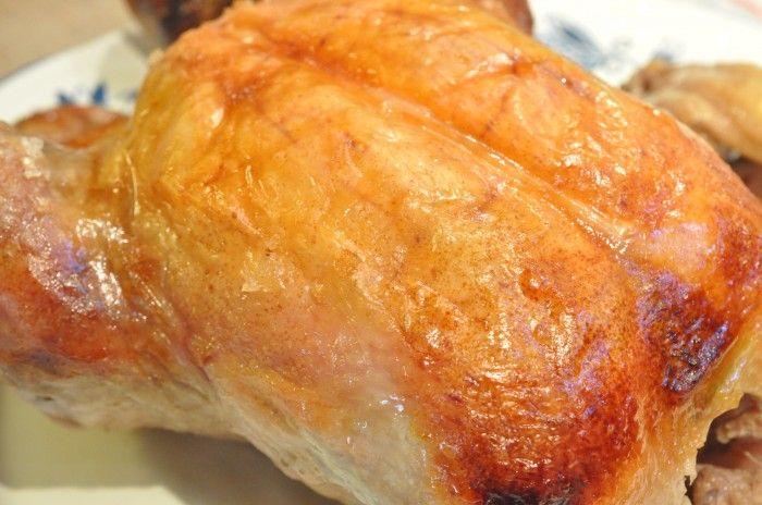 Mør og saftig kylling – langtidsstegt i øl i Römertopf
