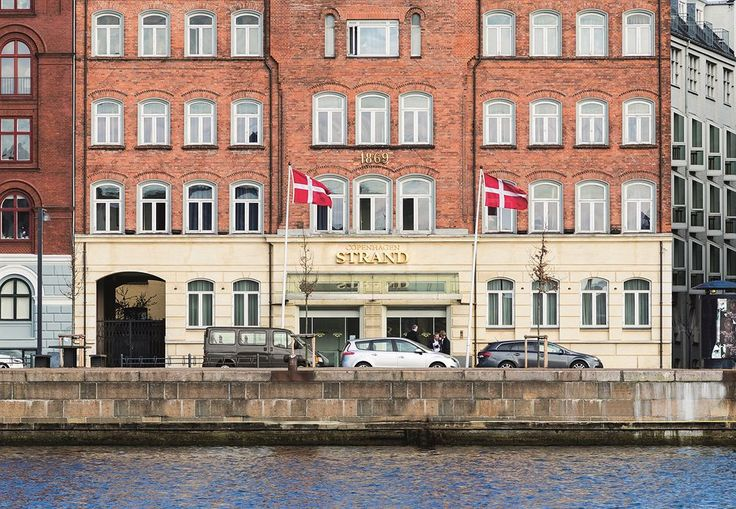Copenhagen Strand Hotel.  Our room was 2nd window in on right, bottom floor.  If you book request a higher ro to lessen the street noise.