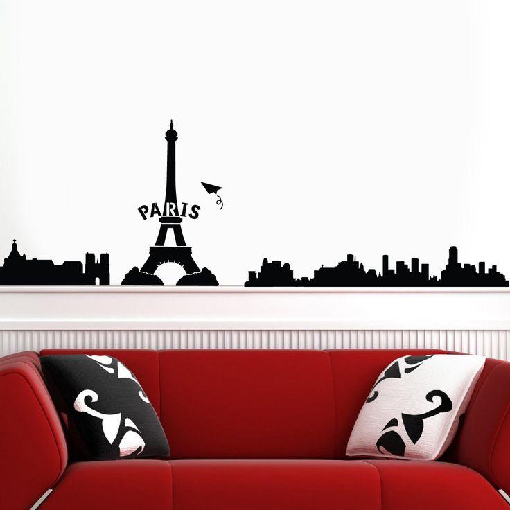 Duvar Sticker ürününü, %62 indirim cazip taksit seçenekleri ve hepsikampanyali.com farkıyla hemen satın alın! Paris Duvar Sticker DSS0044,