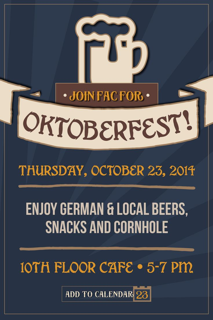 Trendy Blue Stripe Oktober Festival Beer Party Invitation Template Oktoberfest Invitation.