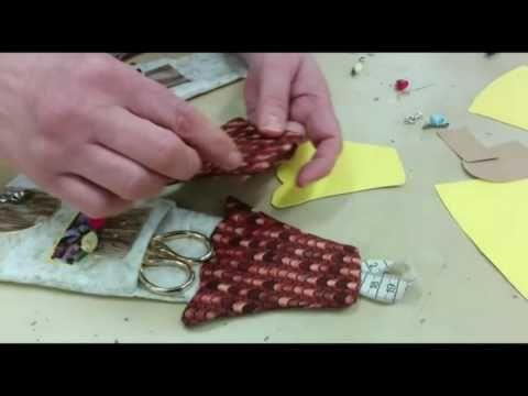 TUTORIAL BASICO Nº 3 DE PATCHWORK FALSA CATEDRAL CAMINO DE MESA NAVIDAD - YouTube