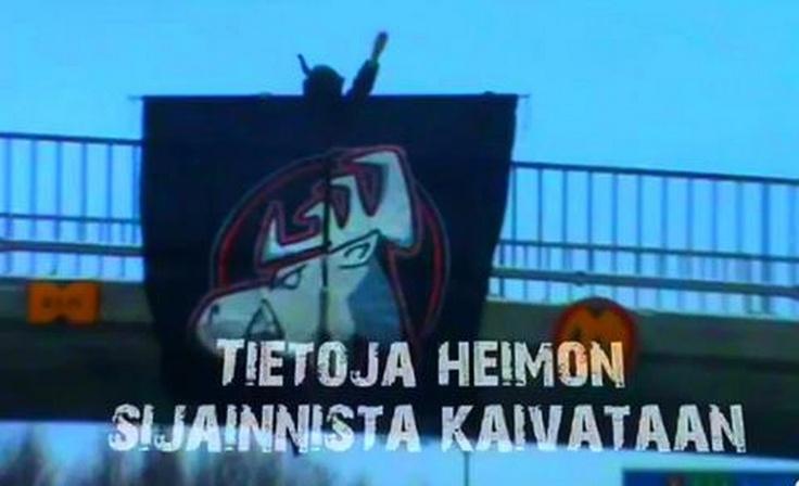 Heimo on the bridge