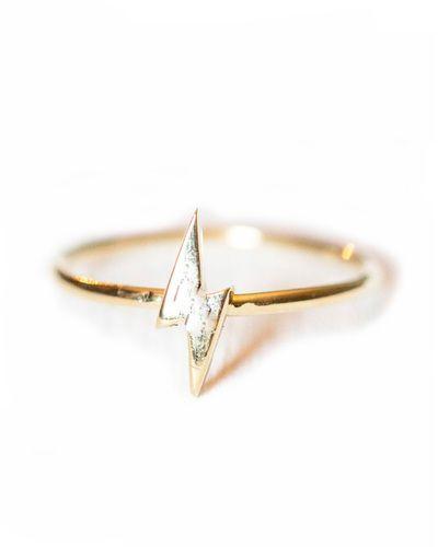 zap! lightening bolt ring... ❥