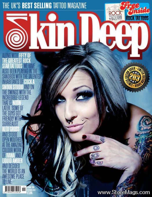 12 best images about skin deep magazine on pinterest for Best tattoo magazine