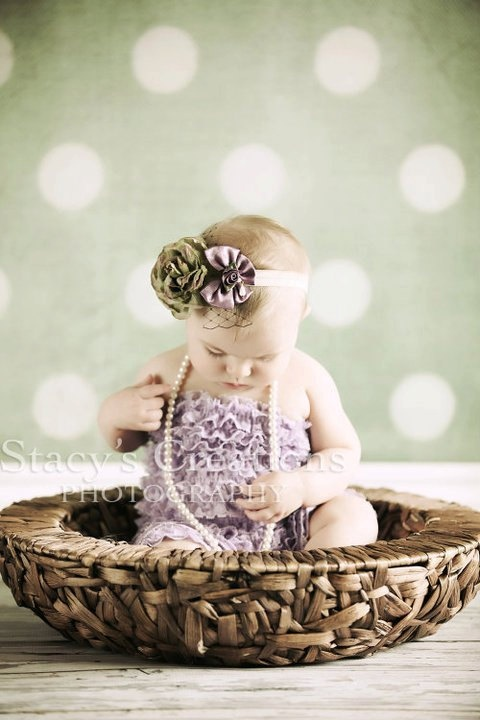 Baby Girl Headband  Baby headband  Newborn by girliebowtique, $20.00