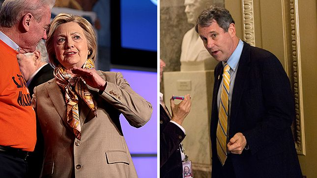 How Hillary Clinton and Sherrod Brown came to know one another   TheHill