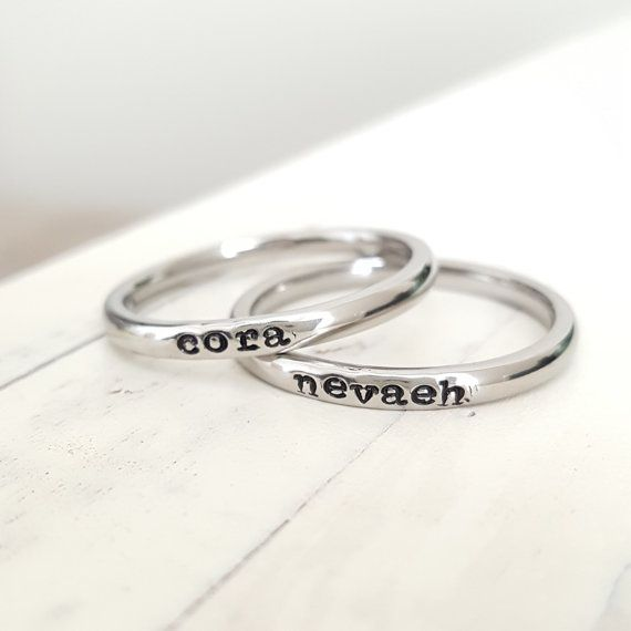 Best 25 Name Rings Ideas On Pinterest  Personalized -1182
