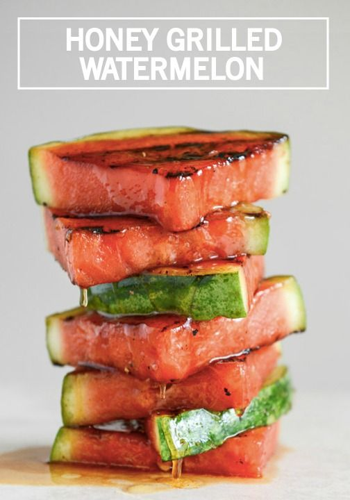 Try making your fruity side dish on the grill with this Honey Grilled Watermelon recipe. All of your dinner party guests are sure to love the unique addition to the menu.