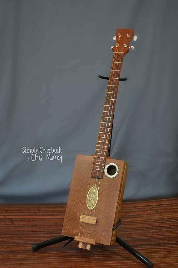 4 string guitar by CandanceMichelle on Etsy, $200.00