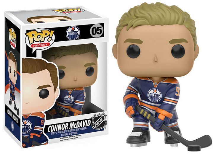 PREORDER - Funko Pop! NHL Connor McDavid #05 - Edmonton Oilers