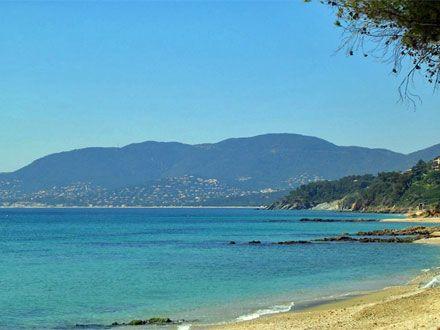 La plage de la location de vacances Appartement à La Croix-Valmer ,Var - photo 12791 Crédits Maison en Provence (TM) / Le propriétaire