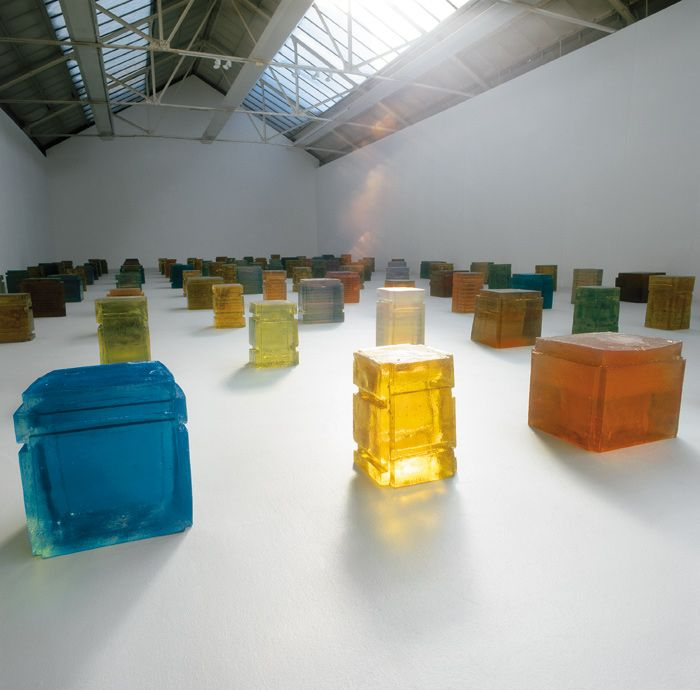 Rachel Whiteread. One Hundred Spaces