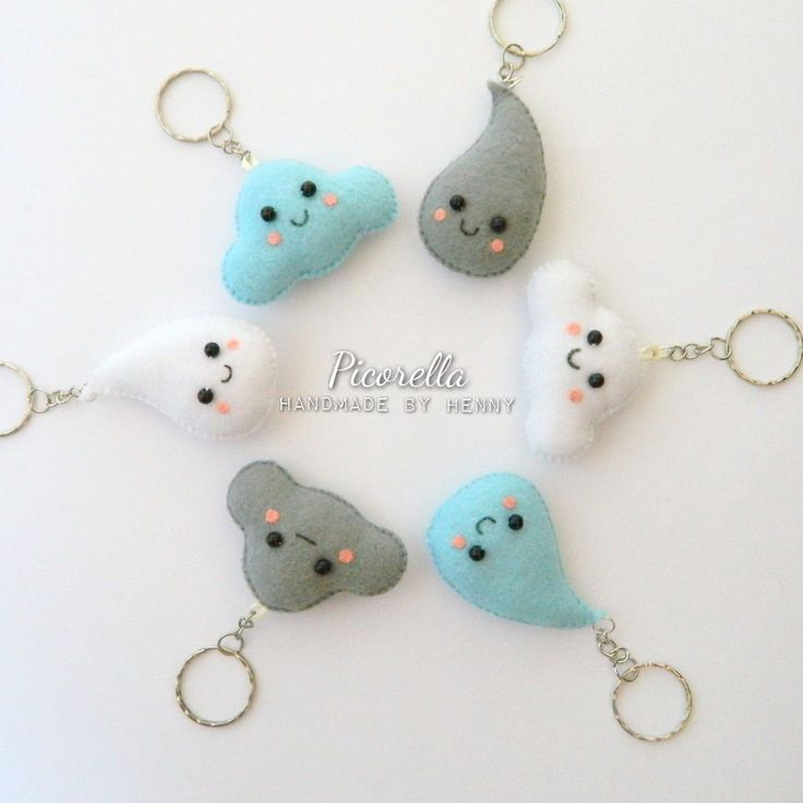 Best 25+ Felt Keychain Ideas On Pinterest