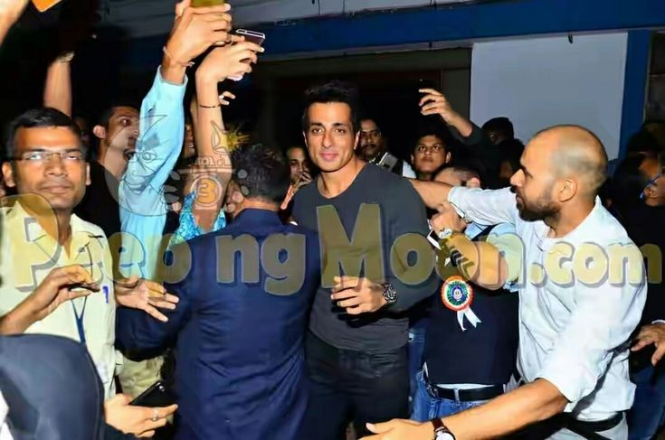 Sonu sood at ICD event