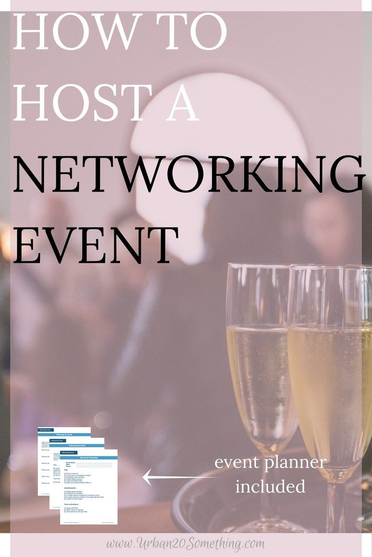 Hosting a networking event has all sorts of benefits to it. You can create your stage for the difficult world of networking. You can get leadership and event planning. You can, of course, network. You'll have a really fun time doing this all, too! Click through to learn how to plan your own networking event and get your free event planner as well!
